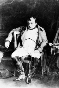 Napoleon Bonaparte was responsible for early expansion of the Louvre's collections through his conquests.