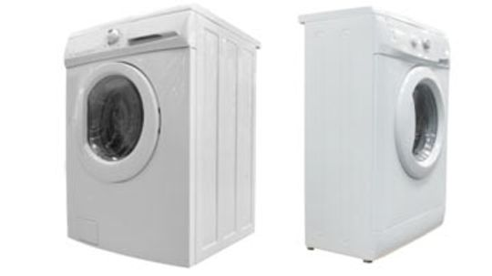What are low-water washing machines?