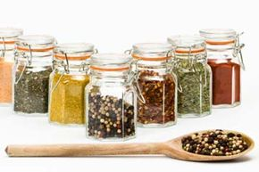 Flavor packets are often big offenders, so add your own spice combo to make sure your food is safe from added sodium. See more spice pictures.