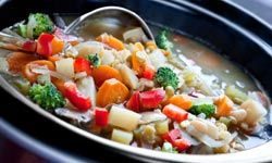 It's easy to load up crock pot recipes with too much sodium. See more pictures of easy weeknight meals.