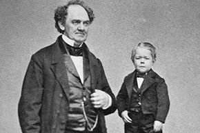 """Barnum renamed Charles Stratton """"Gen. Tom Thumb"""" and took him on the road."""