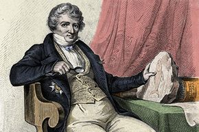 In the 19th century, scientist Georges Cuvier suggested these giant creatures were reptiles.