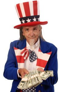 Uncle Sam wants you to go to college. See more college pictures.