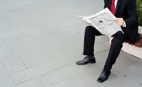Public relations professionals place articles in newspapers.