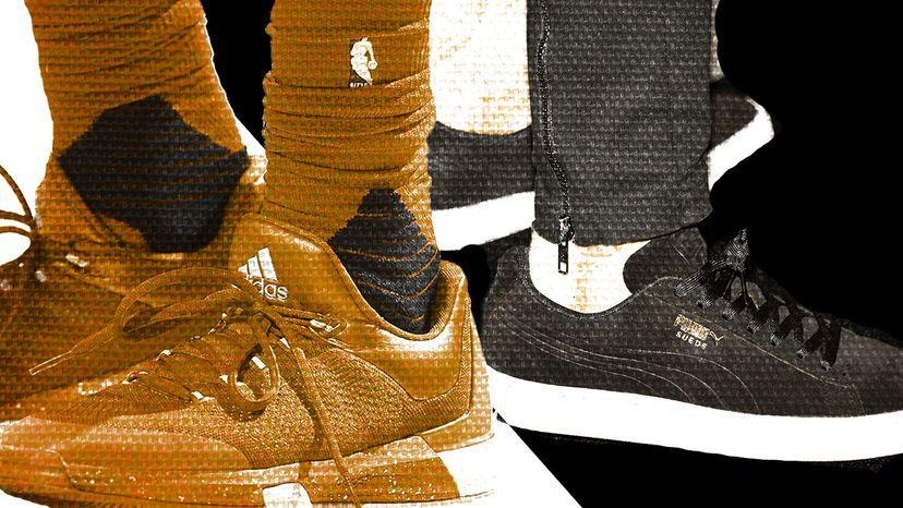 Adidas, James Harden, Janden Smith, Puma sneakers