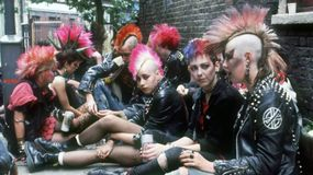 punks in the 80s