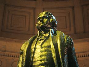 The Jefferson Memorial at Washington, D.C.