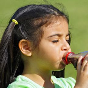 Kids who drink soda regularly drink less milk, water and fruit juice, and heavy soft drink consumption is associated with a lower intake of essential vitamins, minerals and dietary fiber.