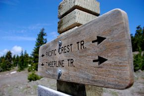 The Pacific Crest Trail begins in Campo, on the Mexican-American border. See pictures of national parks.