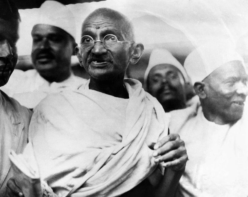 Mahatma Gandhi, one of the most famous pacifists, was not always against violence. Hulton-Deutsch Collection/CORBIS/Corbis via Getty Images