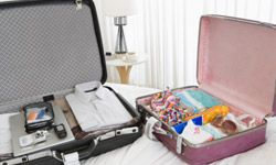 Packing everyone's toiletries can be the trickiest part of prepping for a family trip.