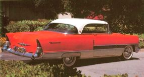 The 1955 Packard looked all-new; in fact, it used a heavily restyled 1951-1954 bodyshell.