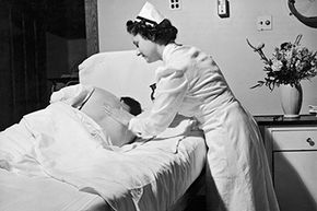 Pain hasn't historically been well understood, but backrubs from nurses might help.