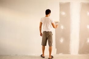 It's easy to make mistakes when painting drywall -- if you don't prepare correctly. See more home construction pictures.