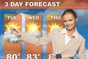 You'll want a dry sunny week before you start your painting job.