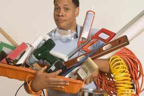 Got enough tools for your paint job yet? See some home construction pictures.