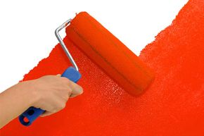 Rollers can cover large areas of wall much faster than brushes.