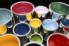Rather than risking disaster with a full, open can of paint, pour a little into another can and lug that around on your job.