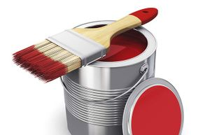 For best results, dip your paintbrush bristles about 2 inches into the can and shake off the excess against the sides of the container.
