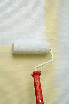 With the help of a your home can be painted very quickly and smoothly. See more pictures of painting interiors.