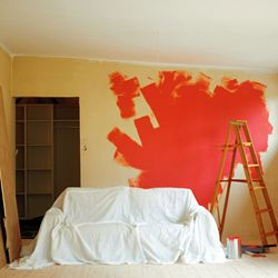 Drop cloths are imperative for keeping your floors, furniture and landscaping free of paint splatters.