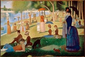 Sunday Afternoon on the Island of the Grand-Jatte by Georges housed at The