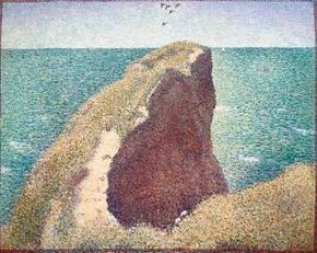 Le Bec du Hoc on canvas, Tate Gallery in London.