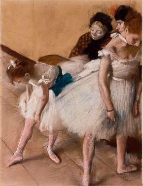 Hilaire-Germain-Edgar Degas's (24-1/2 x 18 inches) that can be seen at Denver Art Museum.