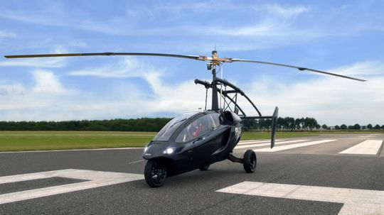 How the Personal Air and Land Vehicle (PAL-V) Works