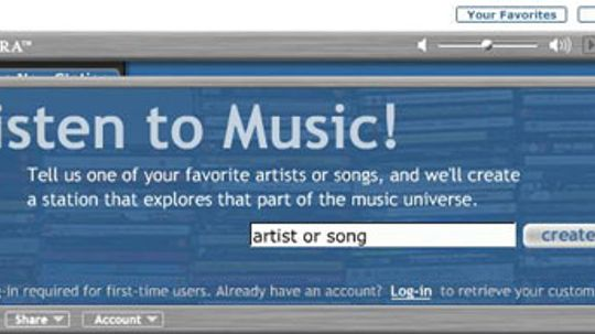 How Pandora Radio Works