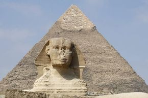 The ancient Egyptians built safe rooms in the pyramids.