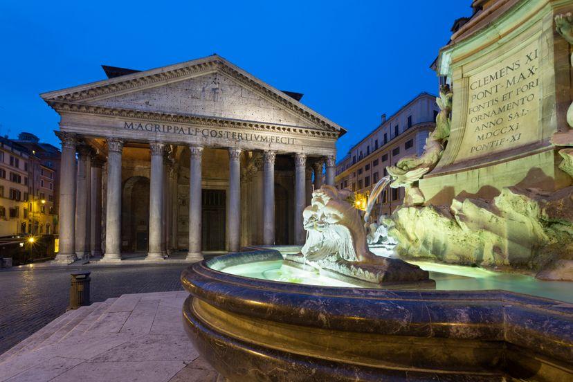 pantheon, rome, ancient rome