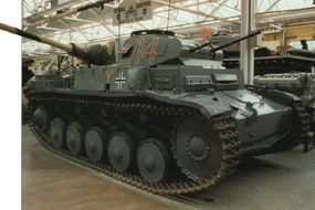 The Nazi German force that invaded Russia in June 1941 included 1,064 Panzerkampfwagen IIs.