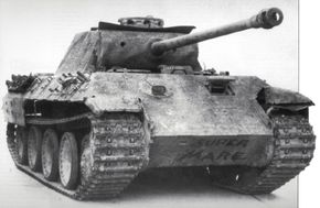 The Panzerkampfwagen V Panther went into full production in January 1943. By May of that year, some 324 Panthers were in service.