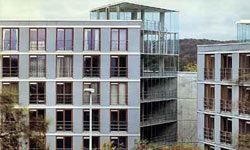 The residence hall at the University of Wuppertal in Germany was built in the '70s but has been successfully retrofitted into a passive house.