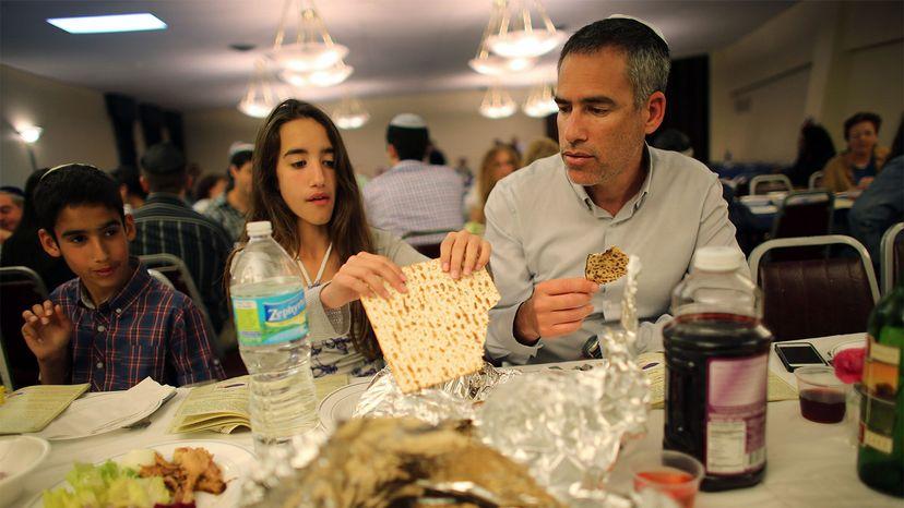 matzo, Seder