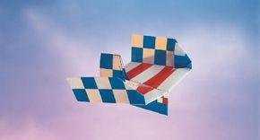 Make the A7 Moonraider paper airplane.