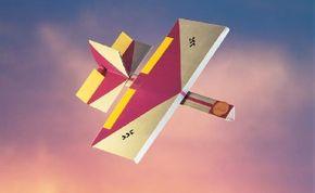 Make the SST Thunderdart paper airplane