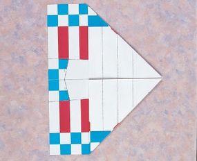 Fold down both corners.