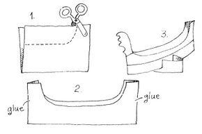 The Paper Gondola paper craft