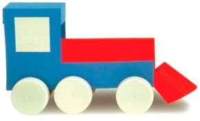 Paper Train paper craft