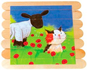 Craft Stick Puzzles are some of the fun paper games you can learn to make.