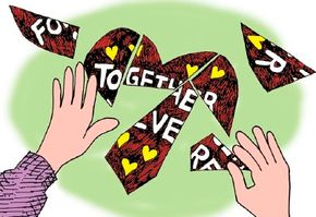 Have your valentine solve the Brokenhearted Puzzle.