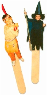 Picture Puppets bring your family and friends to life in puppet form.