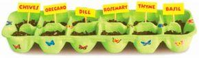 Herb Garden paper planter craft