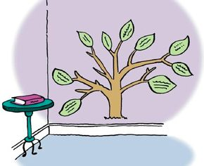 Encourage your family to share their favorite books with this paper tree.
