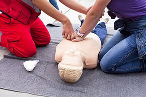 CPR classes are a basic -- but essential -- part of any paramedic's training.