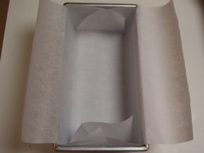 Line a baking pan with parchment paper to prevent foods from sticking and make clean-up easy.