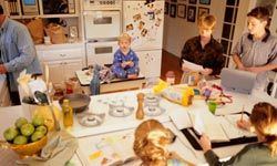 Having an older child take charge of a younger one, teaches them responsibility and nurtures sibling relationships.
