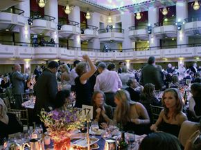 Guests attend a benefit for the Michael J. Fox Foundation to support a cure for Parkinson's disease. See more brain pictures.